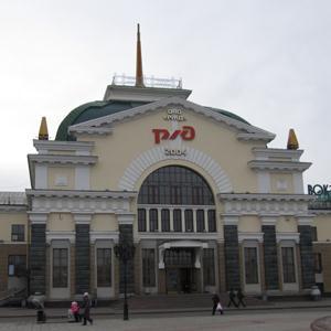 Железнодорожные вокзалы Лысьвы